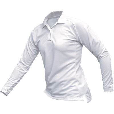 Picture of Women's Coldblack Long Sleeve Polo - White - M