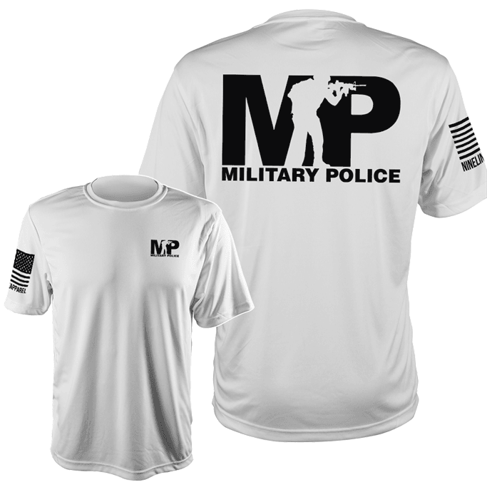 6a46221d Nine Line - Military Police Moisture Wicking T-Shirt Gov't ...