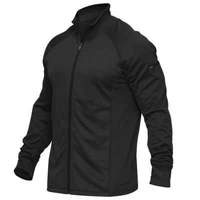 Picture of Apex II Ribbed Collar Jacket - Black-Stealth Black - XL