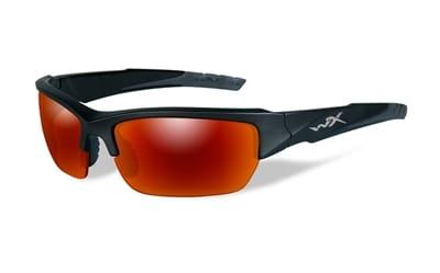 Picture of Valor Polarized Glasses - Matte Black / Polarized Crimson Mirror / Black Ops