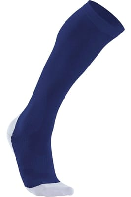 Picture of Men's Compression Performance Run Socks - Navy/Red - XL