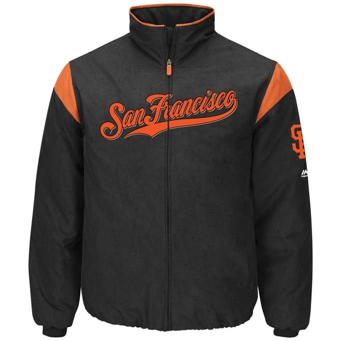huge discount 441ab f06f1 Majestic - Men's Giants Premier Jacket Military Discount | GovX