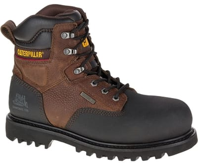 "Picture of Men's Creston 6"" Waterproof TX Composite Toe Work Boots - Oak - 10.5 - Medium"