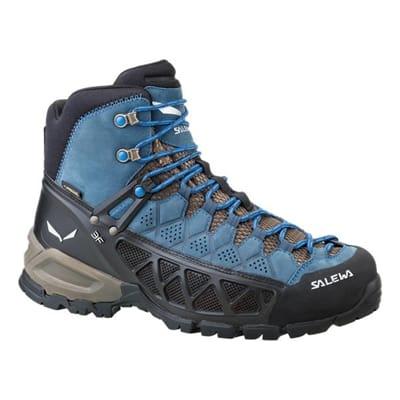 Picture of Men's ALP Flow Mid Gore-Tex Boots - Black Olive/Royal Blue - 7