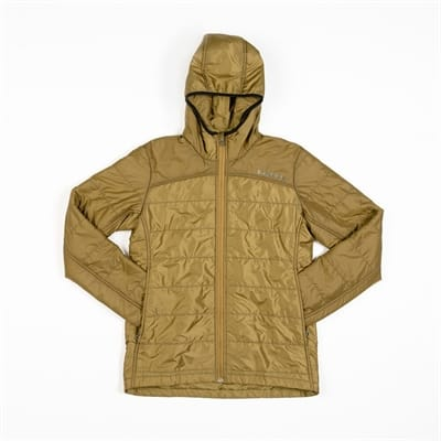 Picture of Women's Woolcloud Zip Hoodie - Camel - M