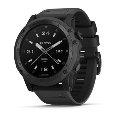 Picture of Tactix Charlie Watch - Black - Silicone Strap