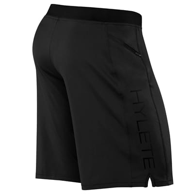 Picture of Men's Vertex II Flex Knit Zip Pocket Shorts - Black/Black - M - Regular