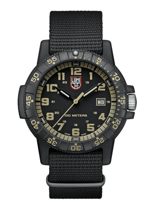 Picture of Sea Turtle 0320 Series Watch - Black/Black/Green