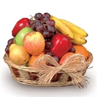 Picture of Seasonal Fresh Fruit Basket - Tuesday, January 29, 2019
