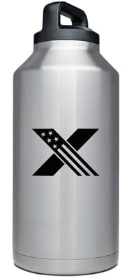Picture of 64oz Rambler Bottle - GovX Exclusive - Stainless Steel - 64 oz