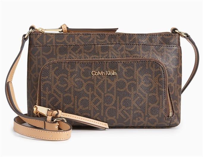 0df934630 Calvin Klein - Monogram Zip Crossbody Bag - Discounts for Veterans ...