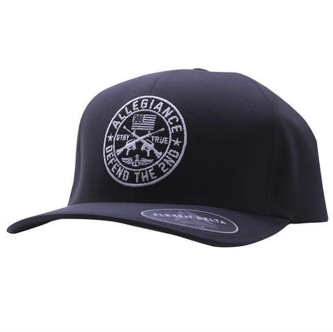 Allegiance - Men's Defend The Second Flexfit Delta Hat - Military