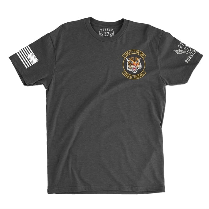 36b948be8d38 Men s F-15E Strike Eagle - Bold Tigers 391st Fighter Squadron T-Shirt