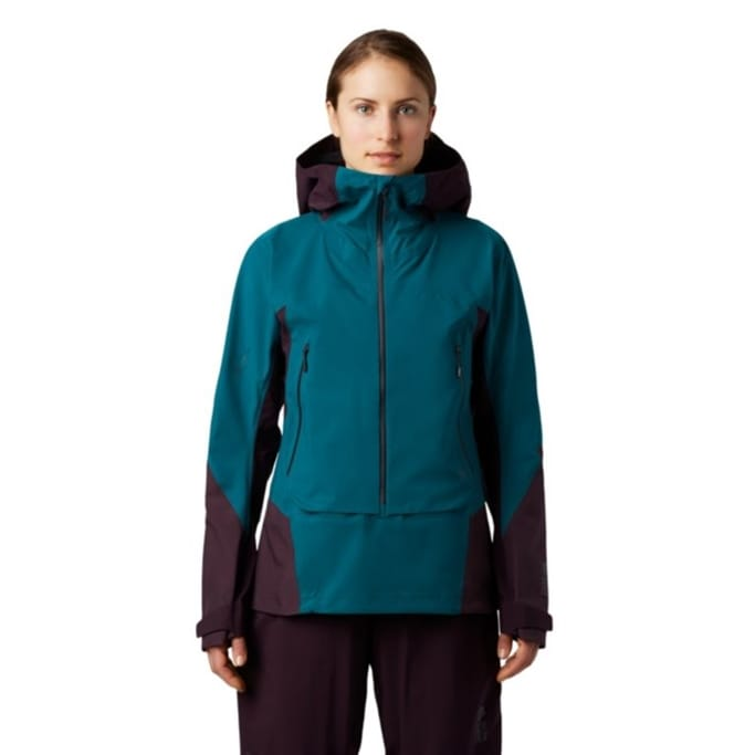 Womens Mountain Hardwear High Exposure GTX C-Knit Bib Pant