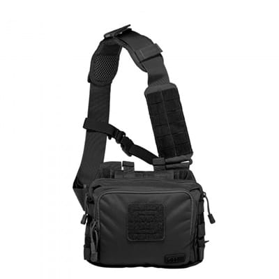 Picture of 2 Banger Bag - Black - One Size