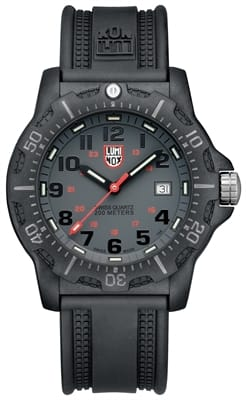Picture of  Black Ops Carbon 8800 Series - Black PU Rubber Strap