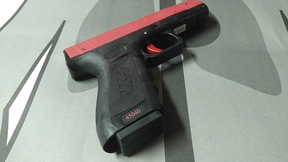 Draw, Fire & Practice with the Laser-Guided SIRT Training Pistol